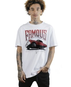 Camiseta Famous Juced Branca