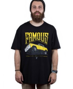 Camiseta Famous Juced Preta
