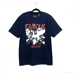 Camiseta Famous SWA Marinho - Tam.  M