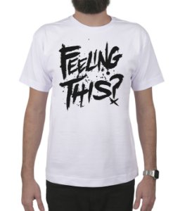 Camiseta blink-182 Feeling This Branca