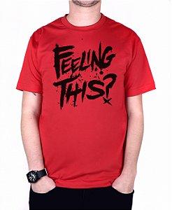 Camiseta blink-182 Feeling This Vermelha