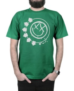Camiseta blink-182 Smiley Verde