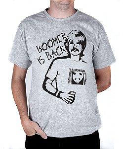 Camiseta blink-182 Boomer Cinza Mescla