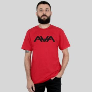 Camiseta AVA Logo Vermelha