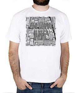 Camiseta blink-182 Blink Neighborhoods Branca