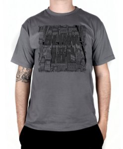 Camiseta blink-182 Blink Neighborhoods Chumbo