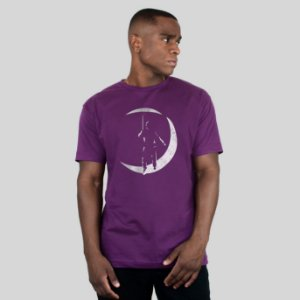 Camiseta AVA The Poet Roxo