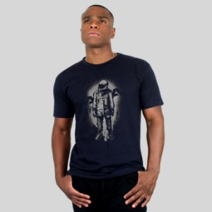 Camiseta AVA The Astronaut Marinho