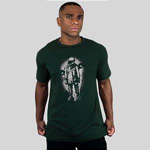 Camiseta AVA The Astronaut Musgo