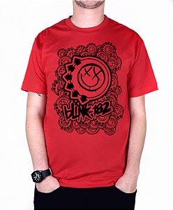 Camiseta blink-182 Smiles On Smiles Vermelha