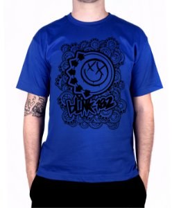 Camiseta blink-182 Smiles On Smiles Royal