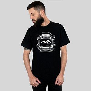 Camiseta AVA Space Head Preta