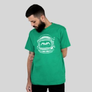 Camiseta AVA Space Head Verde