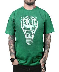 Camiseta Plus 44 Baby Come On Verde