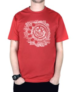 Camiseta blink-182 Smile Songs Vermelha