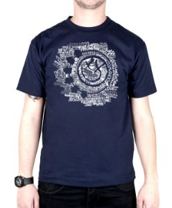 Camiseta blink-182 Smile Songs Marinho