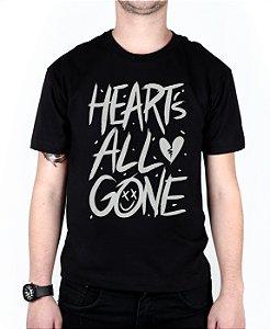 Camiseta blink-182 Heart's All Gone Preta