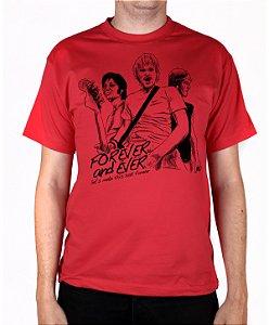 Camiseta blink-182 Forever And Ever Vermelha