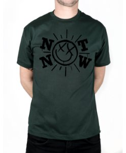 Camiseta blink-182 Not Now Musgo