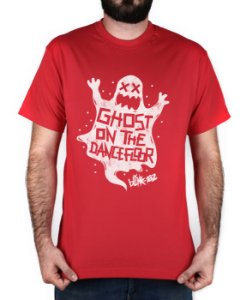 Camiseta blink-182 Ghost On The Dancefloor Vermelha