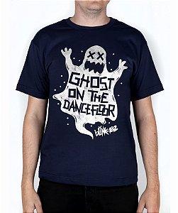 Camiseta blink-182 Ghost On The Dancefloor Marinho