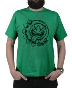Camiseta blink-182 Smile Hungry Verde