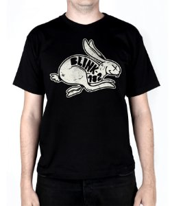 Camiseta blink-182 White Rabbit Preta