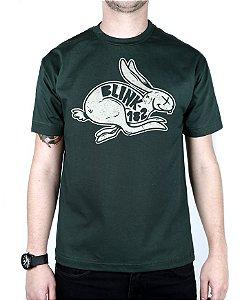 Camiseta blink-182 White Rabbit Musgo