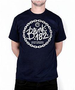 Camiseta blink-182 Chain Marinho