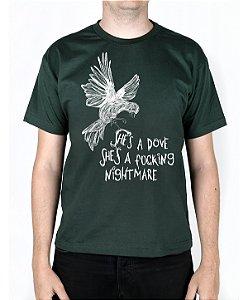 Camiseta blink-182 Dumpweed Musgo
