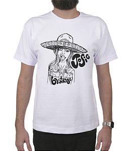 Camiseta blink-182 Josie Branca