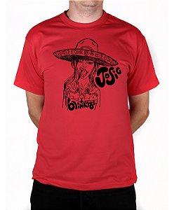 Camiseta blink-182 Josie Vermelha