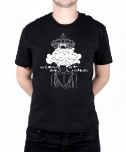 Camiseta blink-182 Carousel Preta