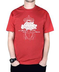 Camiseta blink-182 Carousel Vermelha