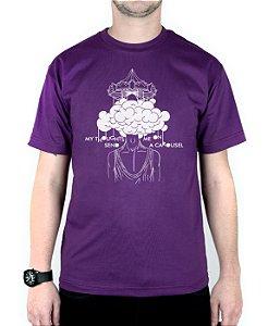 Camiseta blink-182 Carousel Roxo