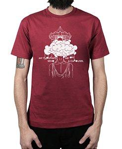 Camiseta blink-182 Carousel Vinho