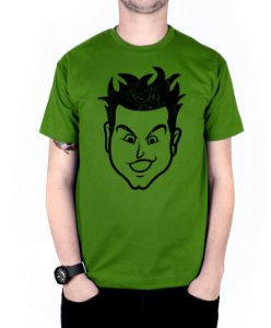 Camiseta blink-182 Mark Old School Verde
