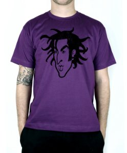 Camiseta blink-182 Travis Old School Roxo