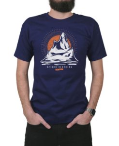 Camiseta Action Clothing Everest Marinho