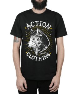 Camiseta Action Clothing Loyal Preta