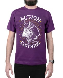 Camiseta Action Clothing Loyal Roxa