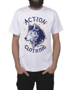 Camiseta Action Clothing Loyal Branca