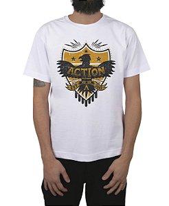 Camiseta Action Clothing Armor Branca