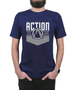 Camiseta Action Clothing The Nation Marinho