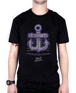 Camiseta Bleed American Captain Preta