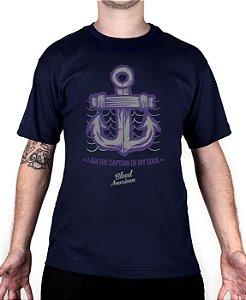 Camiseta Bleed American Captain Marinho