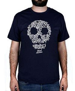 Camiseta Bleed American Flaw Marinho