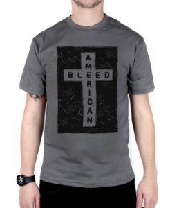 Camiseta Bleed American Cross Chumbo