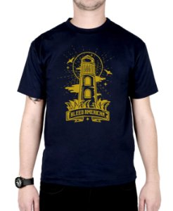 Camiseta Bleed American Lighthouse Marinho