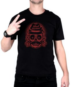 Camiseta Bleed American Mexican Preta